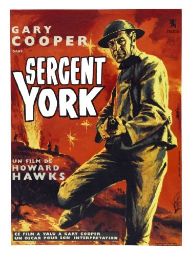 Poster Sergeant York - Sergeant York Movie Poster 24inx36in Ships Rolled In Cardboard Tube