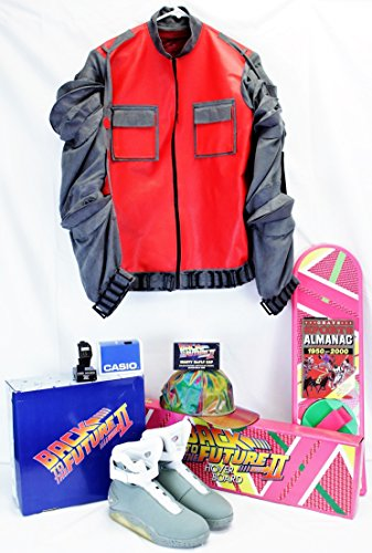 [Back To The Future II ✮ Marty Mcfly ✮ Full Costume ✮ Mens Medium ✮] (Marty Mcfly Costumes)