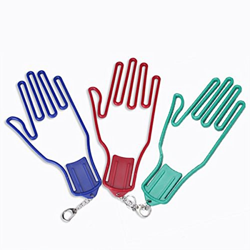 Tinksky Gloves Stretcher Hanger Random
