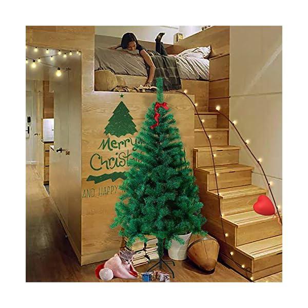 Mctech, albero di Natale artificiale, colore: verde, PVC, 210cm 6 spesavip
