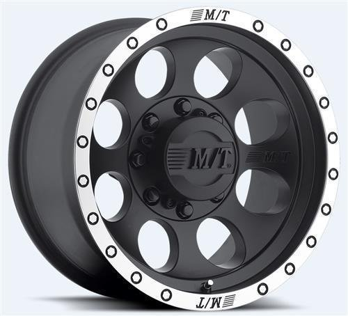 Mickey Thompson Classic Baja Lock Matte Black Wheel with Machined Finish (16x10