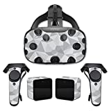 MightySkins Protective Vinyl Skin Decal for HTC Vive wrap cover sticker skins Gray Polygon