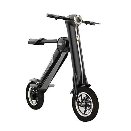 Yyd Mini Bicicletta Elettrica Pieghevole Un Secondo Pieghevole
