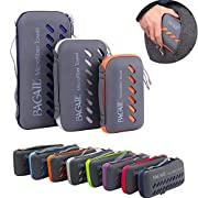BAGAIL Microfiber Towel Perfect Sports & Travel &Beach Towel. Fast Drying – Super Absorbent – Ultra Compact. Suitable…