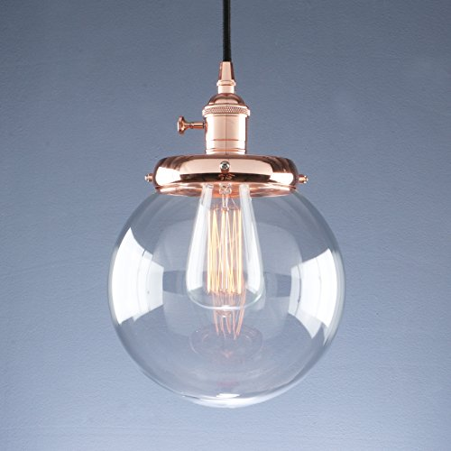industrial pendant lighting fixtures. Wonderful Fixtures Phansthy Vintage Industrial Pendant Light Retro Warehouse Fixture E26  Globe Clear Glass Shade Hanging Lamp For Loft Kitchen Coffee Bar In Lighting Fixtures E