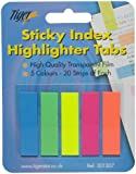 Sticky Neon Indexing Bookmark Tabs Repositionable Memo Notes x 100