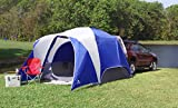 Spacious and Durable Ozark Trail 5-Person SUV Tent,With Media and Multiple Storage Pockets,Attached