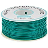 URBEST PCB Solder Green Flexible 0.25mm Dia Copper Wire 30AWG Wrapping Wrap 1000Ft