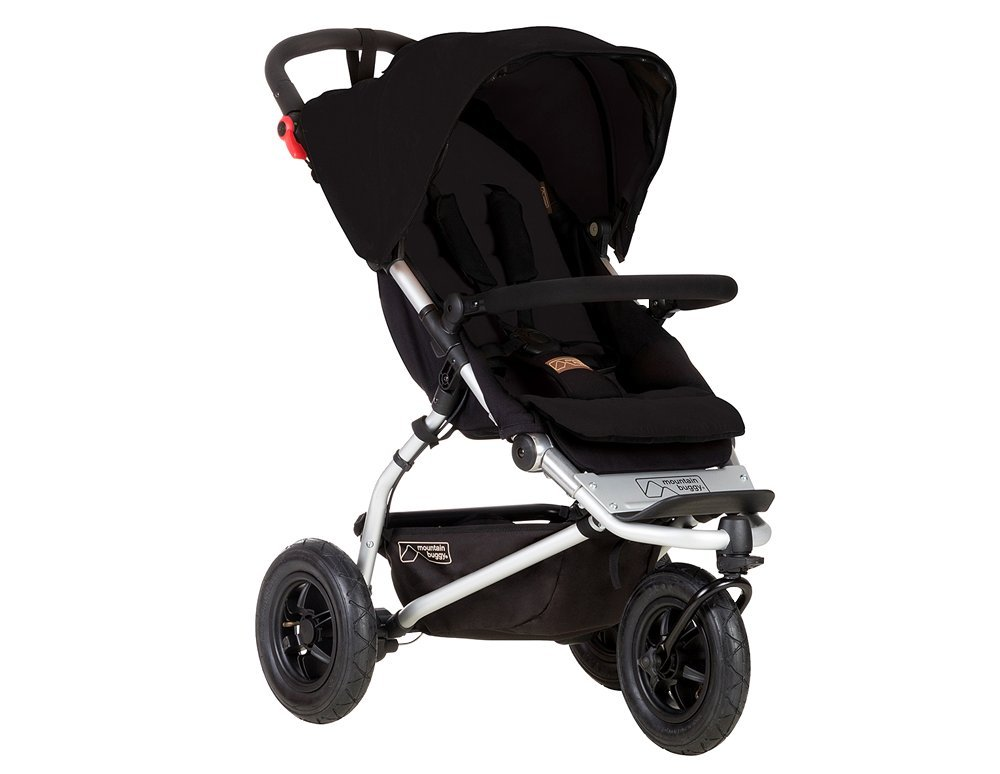 Mountain Buggy Swift Compact Stroller, Black