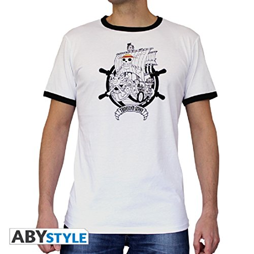 hombre Sunny Piece Camiseta Thousand White One Fashion Mc wq4pIBp8E