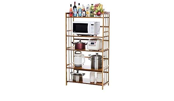 Shelf Estante de microondas para Cocina, Almacenamiento de ...