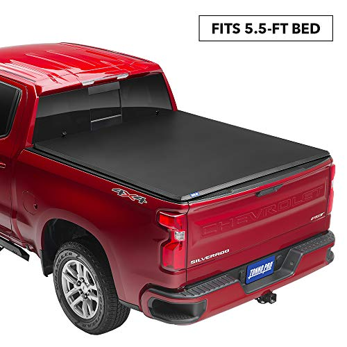 Tonno Pro Tonno Fold Soft Folding Truck Bed Tonneau Cover 42 201 Fits 2009 2018 19 20 Classic Ram 1500 5 7 Bed