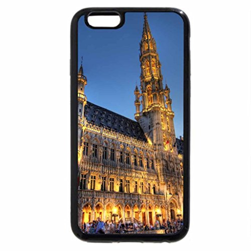 iPhone 6S / iPhone 6 Case (Black) Brussel