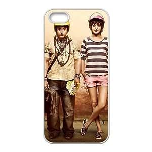 anushka sharma aamir khan pk movie iPhone 5 5s Cell Phone Case White 53Go-290070