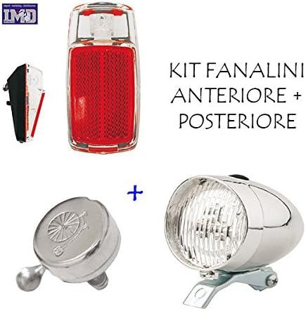 Kit Faro Luz Delantera + Faro Trasera a LED + Timbre ideal ...