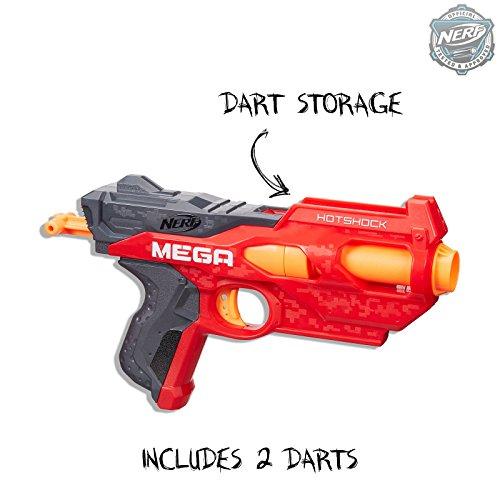 NERF B4969 N-Strike Hotshock Blaster Standard, Red