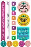 Essentials Planner Stickers -- Wake Up Kick Ass