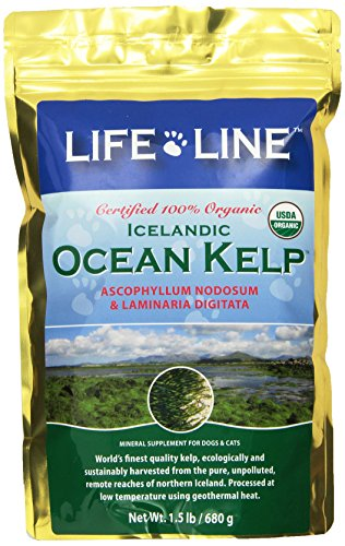 Life Line Organic Ocean Kelp Dog and Cat Supplement, 1-1/2-Pound