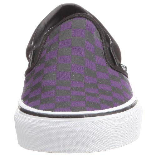 Vans Classic Slip-On - Mocasines unisex Violeta (Gothic Grape/Black Checkerboard)