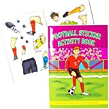Football Activity Books (Pack of 6) by Party Bags 2 Go