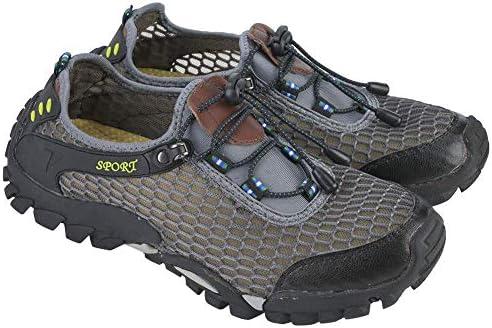 Keenso 登山靴 男性用 軽量 アスレチック トレーニング ウェーディング シューズ トレイル ランニングシューズ アウトドア スポーツ 耐摩耗性 通気性 滑り止め ランニング ハイキング