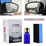 Super Hydrophobic Glass Coating Car Windshield Glass Rearview Mirror Coating Nano Coating Antifog 10ML