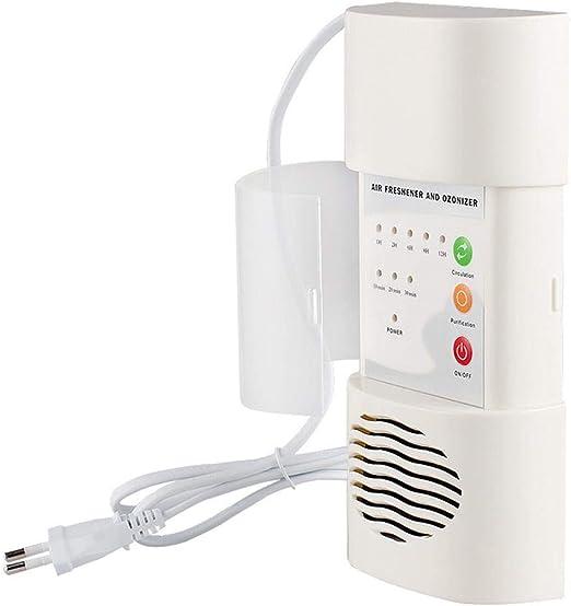 YENJOS - Desodorante de esterilización Antibacteriano de ozonizador, purificador de Aire de la Cocina Principal, Sistema de aspiración y purificador de Aire: Amazon.es: Jardín
