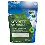 2 Savers Package:Seventh Generation Natural Dishwasher Detergent Pacs, Free & Cle by Seventh Generation
