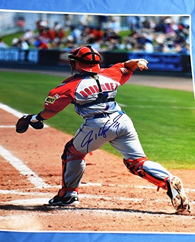 Signed Ivan Rodriguez Photo - 16x20 - JSA Certified - Autographed MLB Photos - Ivan Rodriguez Autographed Photo