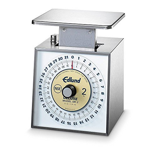 Edlund Company Stainless Steel Scale, 32-Ounce by 0.25-Ounce, Blue ()
