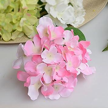 Jiale3536 Künstliche Blumen Hochzeit Künstliche Hortensien Seide
