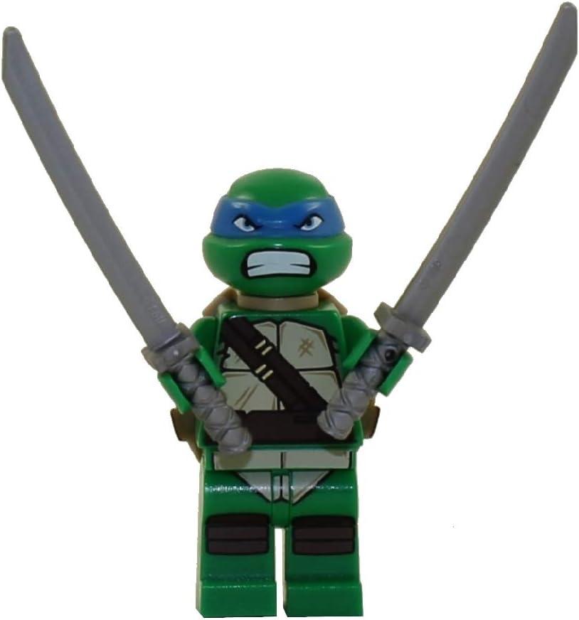 LEGO Minifigure - Teenage Mutant Ninja Turtles - Leonardo with Swords