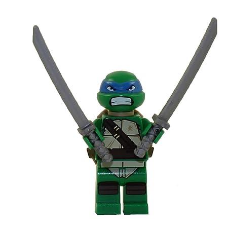LEGO TMNT - LEONARDO V2 Minifigure - Teenage Mutant Ninja Turtles