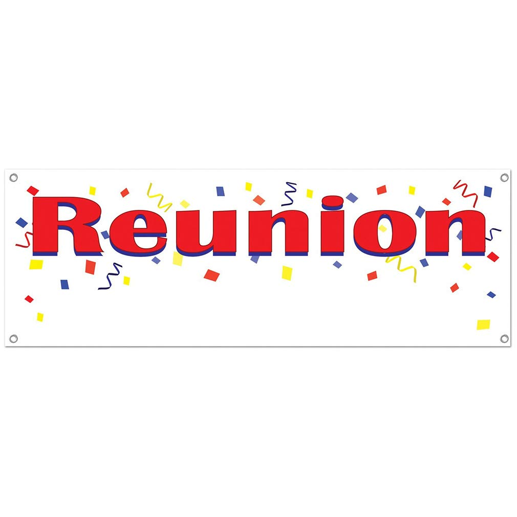 1983 Reunion Decorations Indoor/outdoor Grommets in Each Corner for a Secure Tie Down Celebrate High School, College, or Club Reunions with Fun Decorations, Tableware, and Favors Made of Plastic
