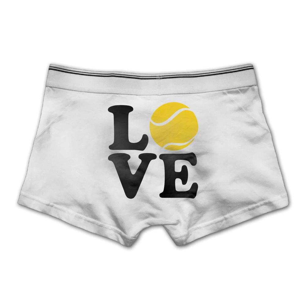 Mens Boxer Briefs Underwear Tennis Love Printed Underpants,M//L//XL//XXL//3X