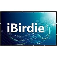 Projector Screen 100 Inch Diag HD 16:9, Portable Foldable Indoor Outdoor Movie Screen