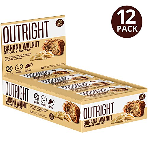 Outright Bar – Whole Food Protein Bar – 12 Pack – MTS Nutrition (Banana Walnut Peanut Butter)