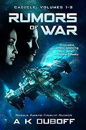 Rumors of War (Cadicle Vol. 1-3): An Epic Space Opera Series
