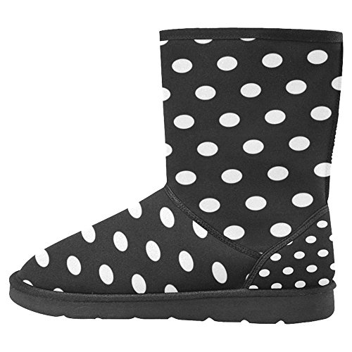 InterestPrint Womens Snow Boots Unique Designed Comfort Winter Boots Multi 27 GeSc09dox2