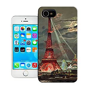 Unique Phone Case Eiffel Tower Vintage Lithographic Print-Exposition Universelle (1889) Hard Cover for 5.5 inches iphone 6 plus cases-buythecase