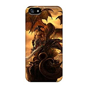 AlexandraWiebe Snap On Hard Dragon And Warrior Protector For SamSung Galaxy S4 Phone Case Cover