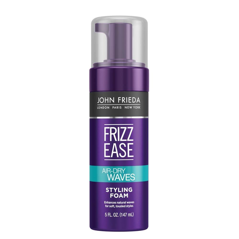 John Frieda Frizz Ease Air Dry Waves Styling Foam, 5 Fl Oz