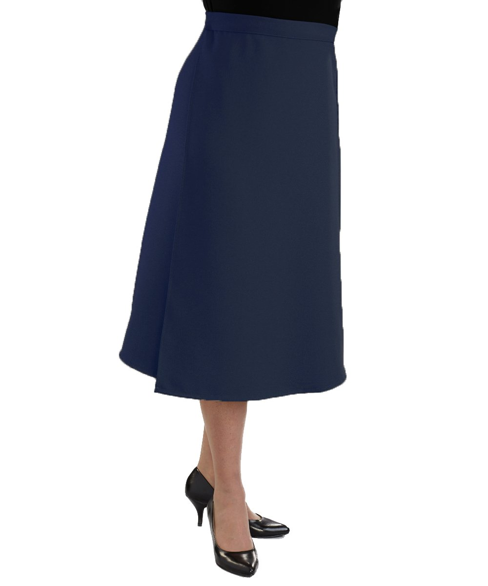 Adaptive Wrap Skirt with Adjustable Closures - Navy 2XL by Silvert's