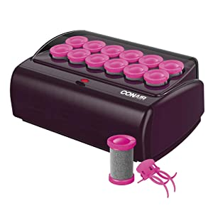 """Conair Express Waves & Volume Hot Rollers, Jumbo 1 1/2"""" Hot Rollers, NEW COLOR & DESIGN"""