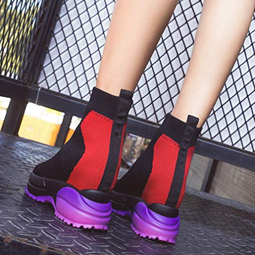 Piattaforma Mesh C Sportive In Alte Scarpe Primavera Donna Sneakers Ginnastica Stivali Altezza Yan Da Autunno Invisibili ztZRwUq