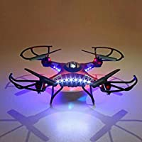 Nibito JJRC H8DH 6-Axis Gyro 5.8G FPV RC Quadcopter Drone HD Camera With Monitor