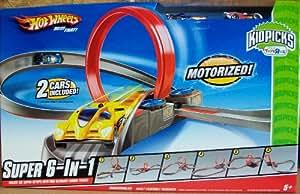 Hot Wheels - Pista de Carreras - Súper 6 en 1