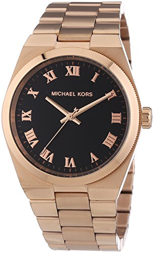 Michael Kors Women's Vintage Glam Brooks Watch, Rose Gold, One Size (Fossil Women Hat)