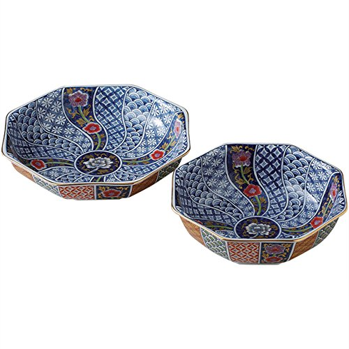 Japanese Plate of Imari Porcelain Kitchen 2 Set