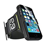 Puregear 60780PG Hip Sports Armband iPhone 6 Black/Green Case with Retail Packaging